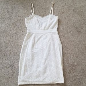 Victoria's Secret White Eyelet Dress
